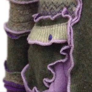 Andrea Durham Designs Jackets & Coats - CUSTOM SWEATER COAT, PATCHWORK look book